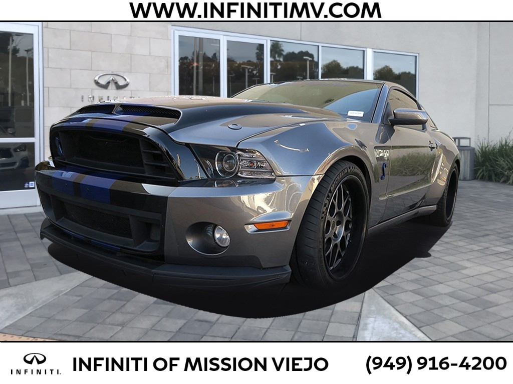 Pre-Owned 2013 Ford Mustang 2DR CPE SHELBY GT500