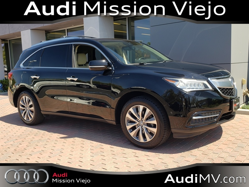 Acura Mission Viejo >> Pre Owned 2014 Acura Mdx 3 5l Technology Package