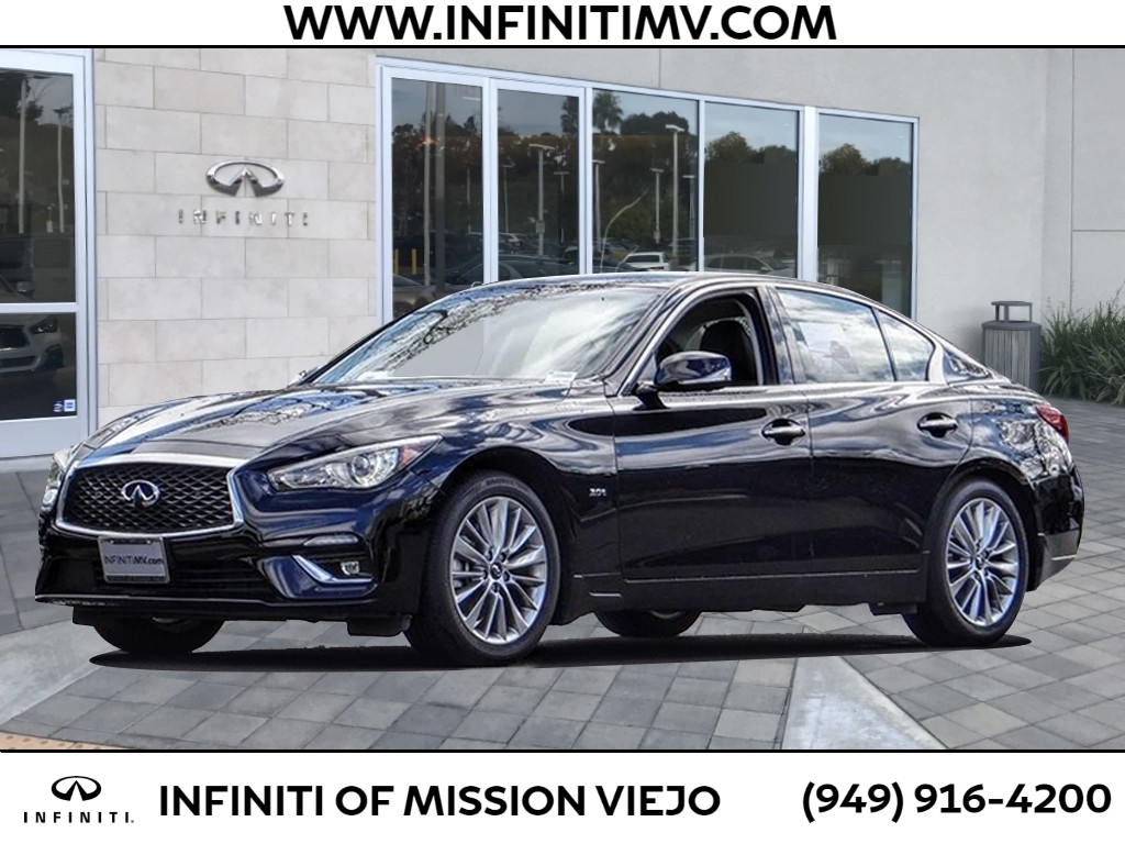Certified Pre-Owned 2018 INFINITI Q50 3.0T LUXE RWD