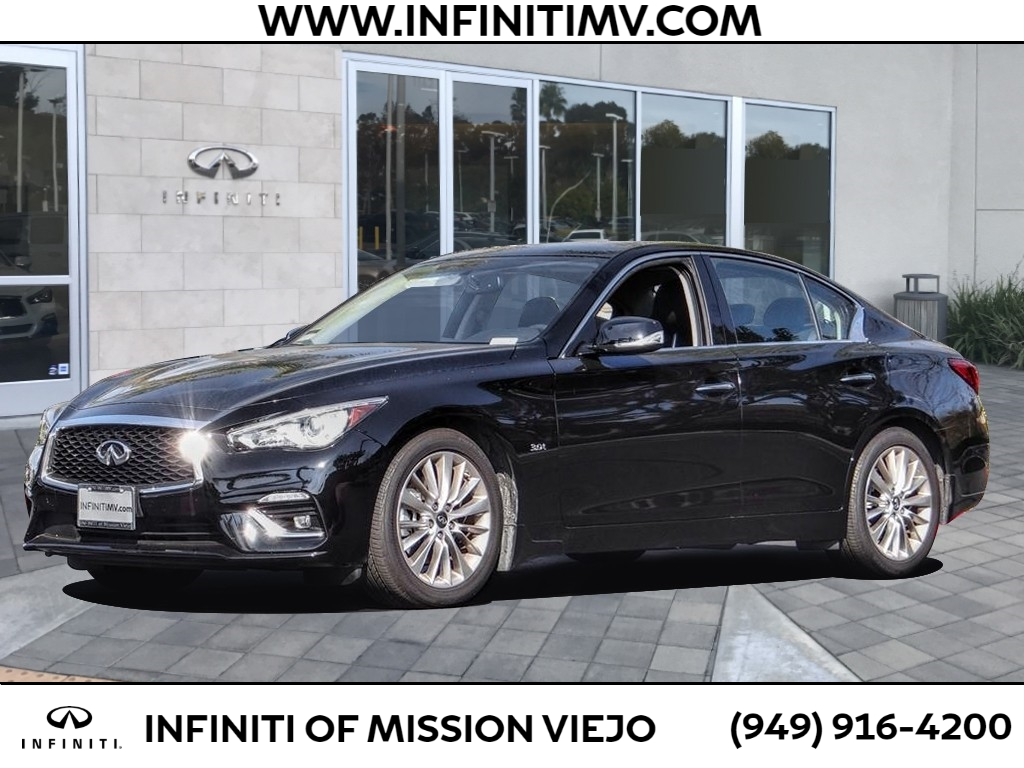 Certified Pre-Owned 2019 INFINITI Q50 3.0T LUXE RWD