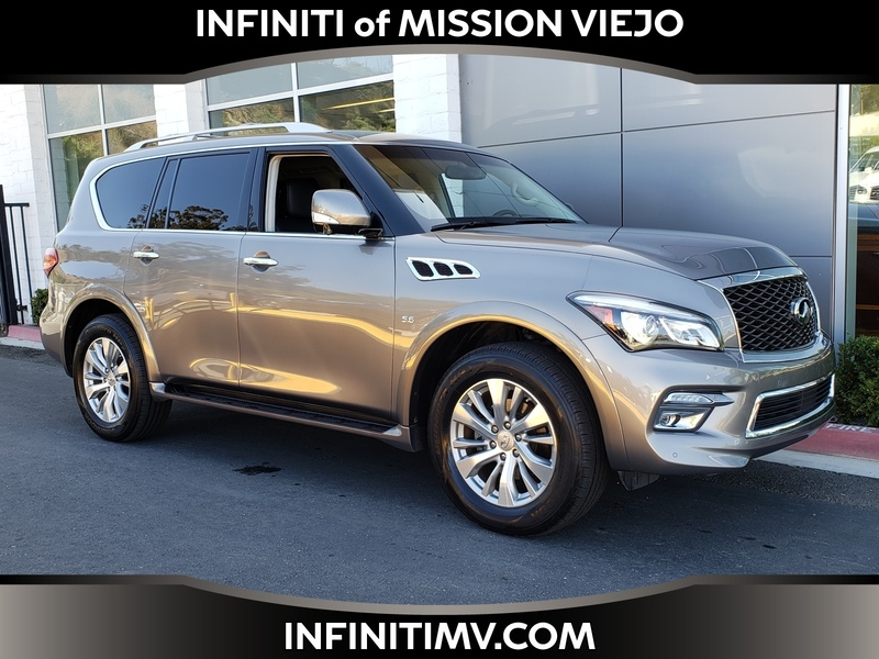 Certified Pre-Owned 2016 INFINITI QX80 2WD/NAVI/DRIVER ASSIST PKG