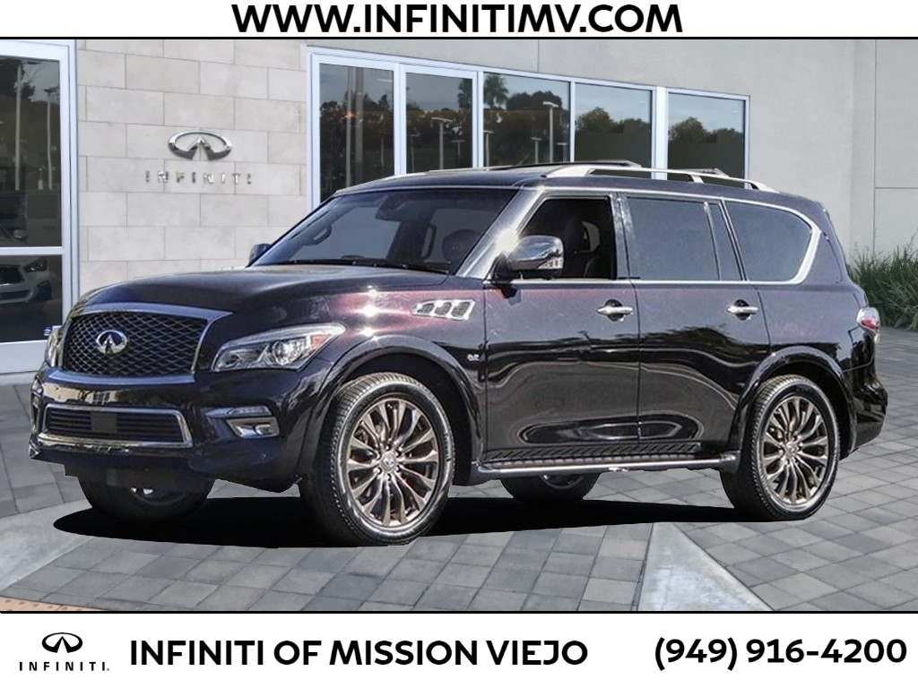 Certified Pre-Owned 2016 INFINITI QX80 4WD 4DR LIMITED