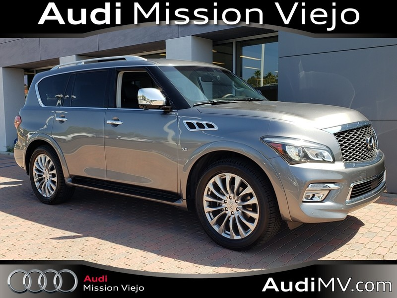 Pre-Owned 2016 INFINITI QX80 W/NAVI/DVD/DELUXE TECHNOLOGY/DRIVER ASSIST PKG