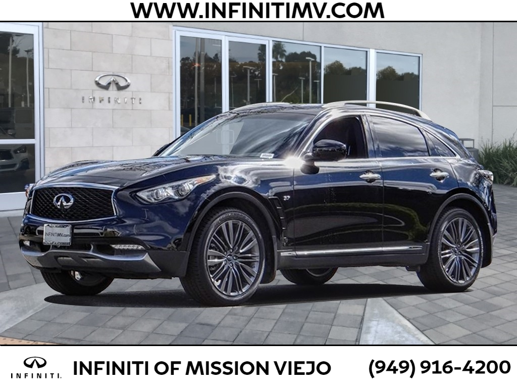 Certified Pre-Owned 2017 INFINITI QX70 RWD
