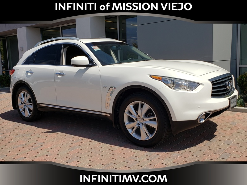 Certified Pre-Owned 2016 INFINITI QX70 AWD/NAVI/DELUXE TOURING PKG