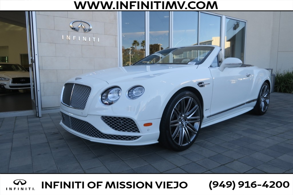 Pre-Owned 2017 Bentley Continental GT Speed Convertible