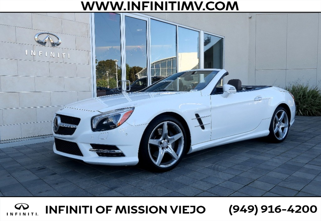 Pre-Owned 2016 Mercedes-Benz SL-Class 2dr Roadster SL 550