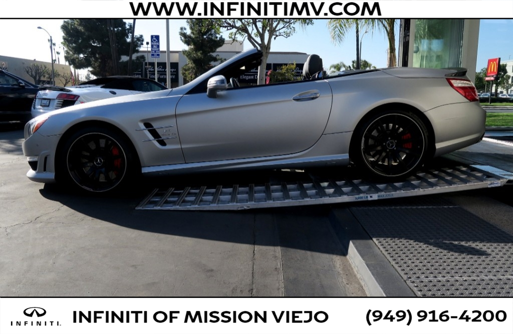 Pre-Owned 2013 Mercedes-Benz SL-Class 2dr Roadster SL 63 AMG®