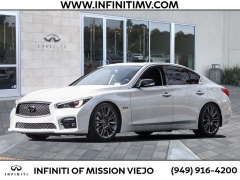 Pre-Owned 2016 INFINITI Q50 4DR SDN 3.0T RED SPORT 400 RWD