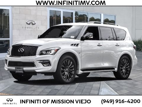 Certified Pre-Owned 2015 INFINITI QX80 4WD 4DR LIMITED