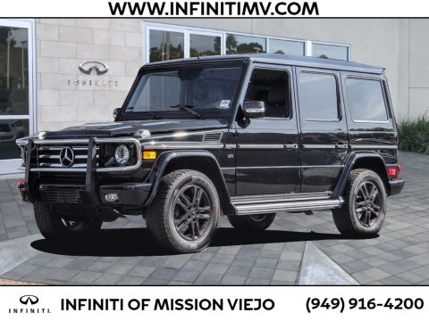 Pre-Owned 2012 Mercedes-Benz G-Class 4MATIC® 4DR G 550
