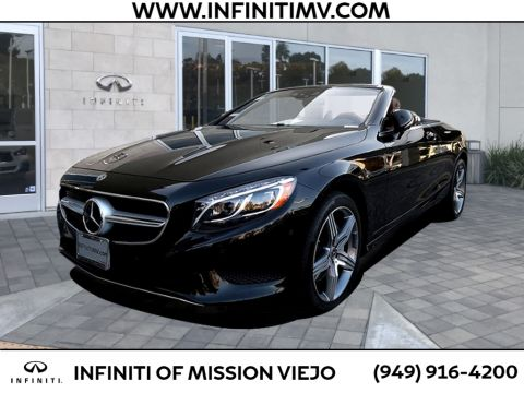 Pre-Owned 2017 Mercedes-Benz S-Class S 550 Cabriolet