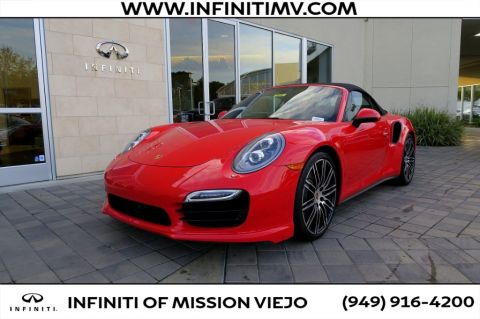 Pre-Owned 2014 Porsche 911 2dr Cabriolet Turbo